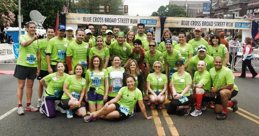 2013 Broad Street Run Team