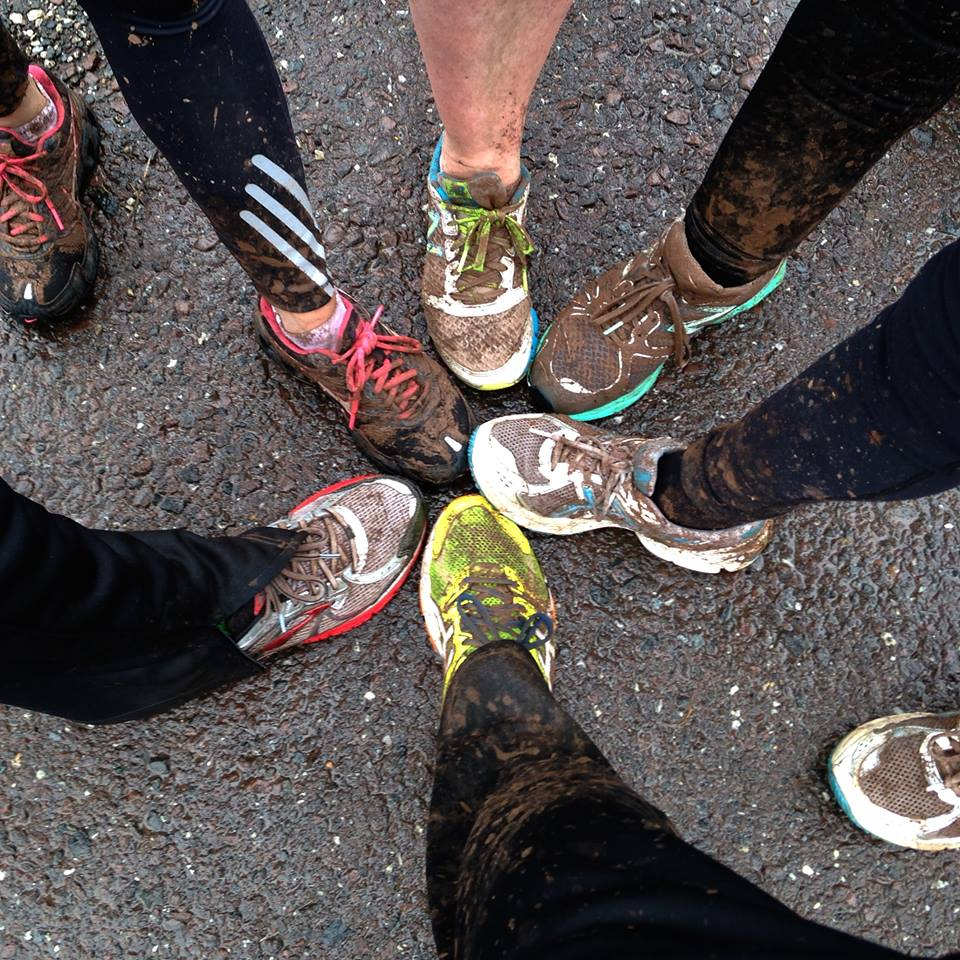 Muddy Group Run