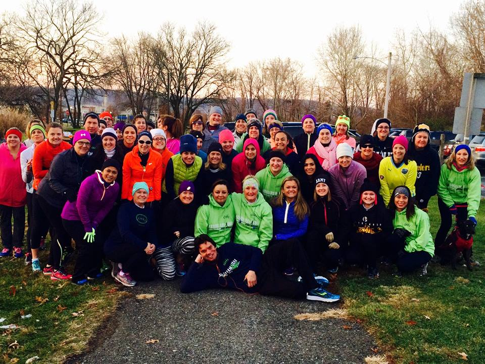 One of our largest group runs ever!