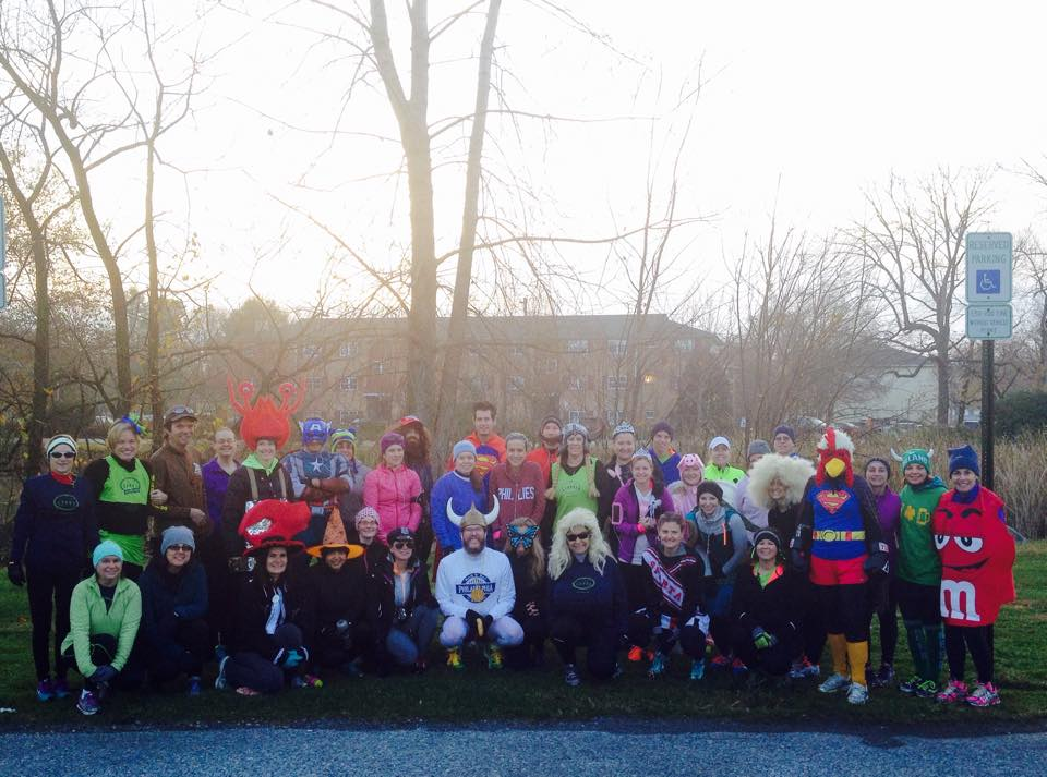 Team CMMD set off in costume for a post Halloween Fun Run and also collected much needed personal care items for veterans