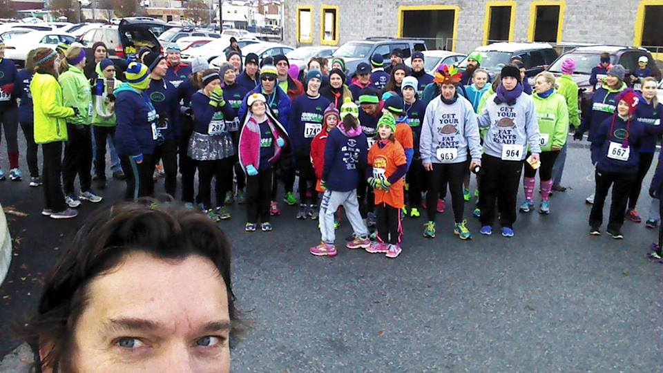 Over 100 Team CMMD members participated in the Thanksgiving day Turkey Trot in support of Cure4Cam childhood cancer research